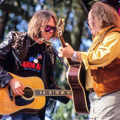 Neil Young and David Crosby - Golden Gate Park, San Francisco, CA 11/3/91