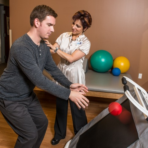 Client: Sutter Health - Physical therapist and patient
