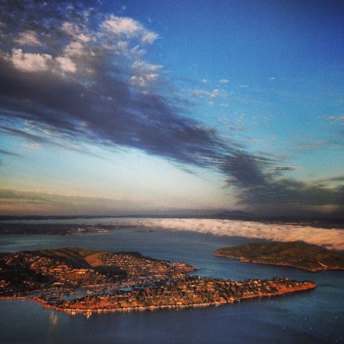 aerial photography marin county san francisco