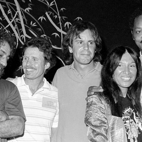 Abby Hoffman, Country Joe MCadonald, Bob Weir, Buffy Sainte-Marie and Jesse Jackson - The Saint, NYC 5/29/86