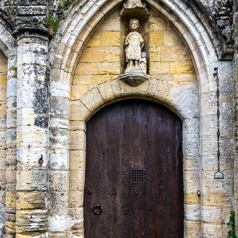 Abbaye Sainte-Marie — Normandy, 12th-century Benedictine Abbey of Longues-sur-Mer—France