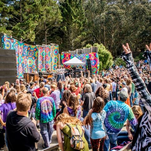 Stu Allen & Mars Hotel perform at Jerry Day - San Francisco, CA 8/4/13