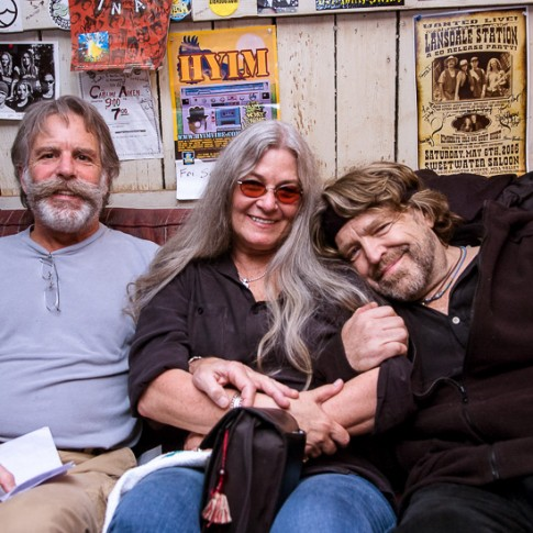 Bob Weir, Jonna Jean Godchaux & John Perry Barlow