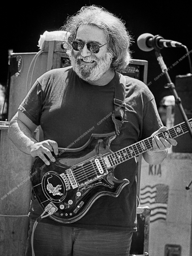 Jerry Garcia - Grateful Dead - Frost Amphitheatre, Palo Alto, CA May 1987May 1987