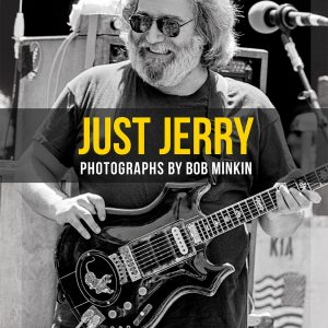 Just Jerry - Standard Edition Book Cover By Bob Minkin